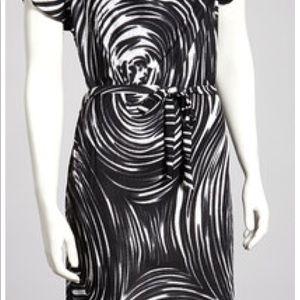 Jon & Anna Black & White Dress